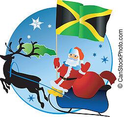 navidad, jamaica!, alegre