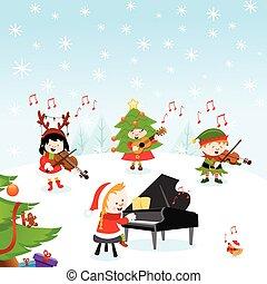 navidad, música