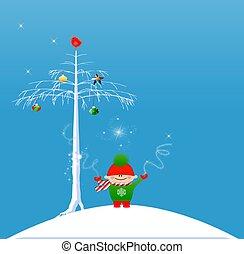 navidad, magia