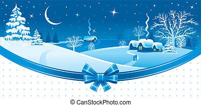 navidad, noche