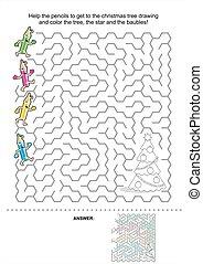 Educativo Ninos Copia Juego Ninos Dibujo Arbol Cuadricula