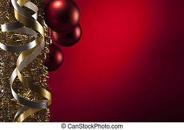 navidad, pelotas