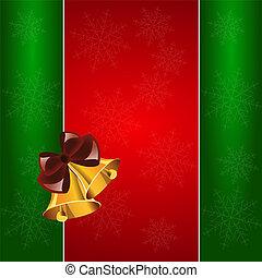 navidad, Plano de fondo, campanas