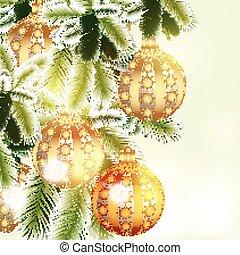 navidad, plano de fondo, plata