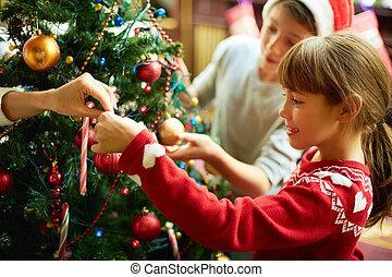 navidad, preparaciones