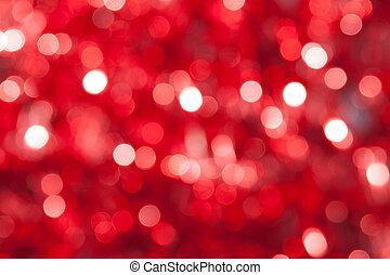 navidad, resumen, defocused, plano de fondo, rojo