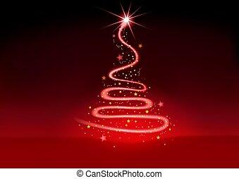 navidad, rojo