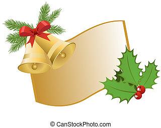navidad, saludo