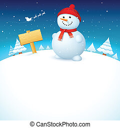 navidad, snowman
