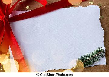 navidad, vacaciones, surprise;, navidad, tarjeta de felicitación, plano de fondo