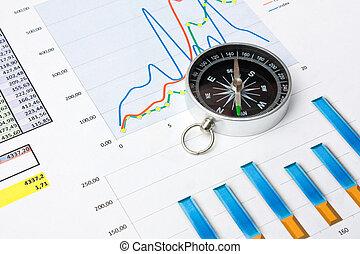navigatie, in, economie, en, financiën
