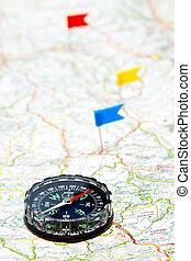 navigatie, kompas