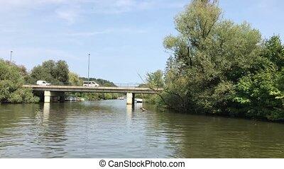 Navigating On Ljubljanica River - Navigating on Ljubljanica...