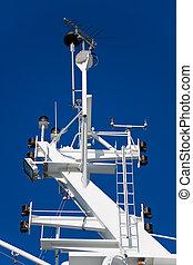 navigation, bateau, équipement
