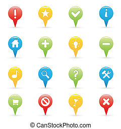 Navigation Icons - Set of Navigation And GPS Icons