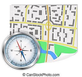 navigation, ikon