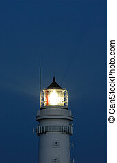 Navigation light - Lighthouse from the island sylt, germany.