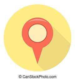 Navigation Location Pin
