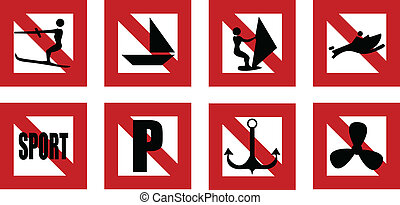 navigation rules prohibiting signs