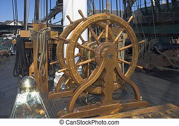 Navigation wheel