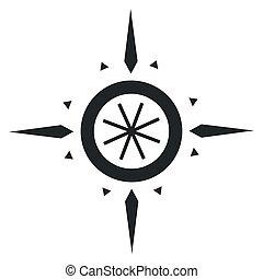 Navigation wind rose - Branding identity corporate logo...