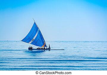 navigazione, canoa