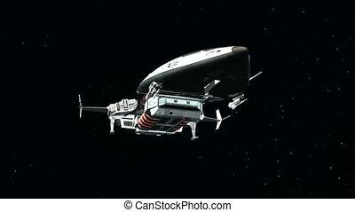navio espaço