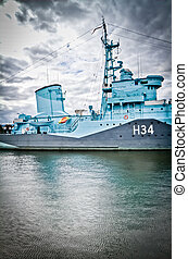 navio, gdynia, guerra