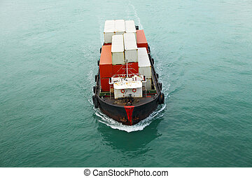 navio recipiente