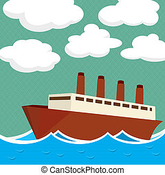 navio vapor