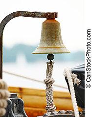 navio, velejando, sino