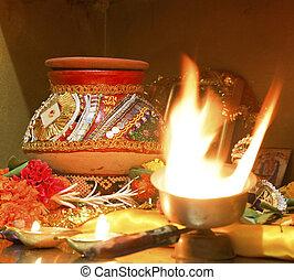 Navratri Hindu Hinduism religion religious even - square...