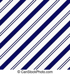 Navy Blue Diagonal Striped Textured Fabric Background that...