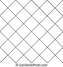 Navy Blue Grid White Diamond Background
