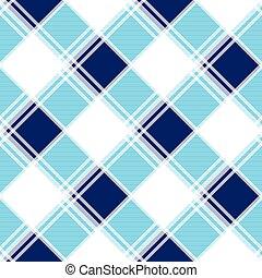 Navy Blue White Diamond Chessboard Background