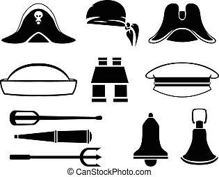 Navy icons