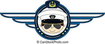 Navy Officer Badge