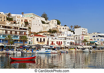 Naxos island in Greece - Naxos island at the Cyclades of the...