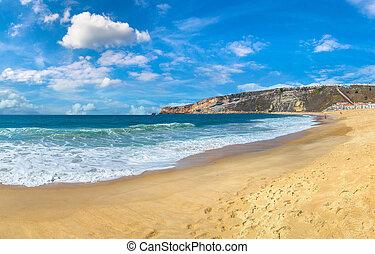 Nazare coast , Portugal