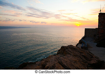 Nazare sunset