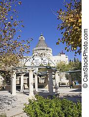 nazareth, お告げの祝日, イスラエル, 大聖堂