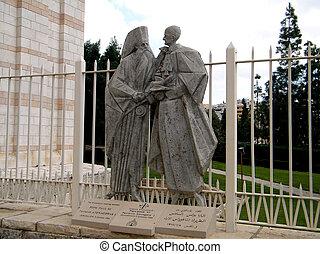 Nazareth Basilica Pope Paul VI 2010