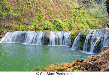 nazionale, cascata, parco