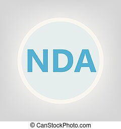 nda, acroniem, (non-disclosure, agreement)