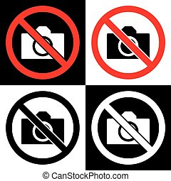 ne, fotografie, a, kamera