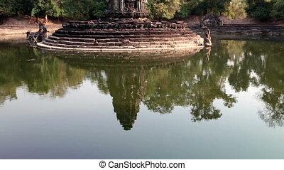 Neak Pean- religious architecture landmarks buildings...