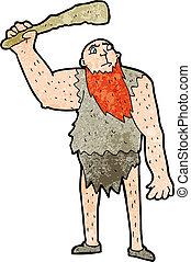 neanderthal, dessin animé