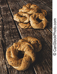 Neapolitan cookies called Taralli. They are made in Naples...