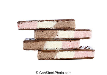 Neapolitan ice cream bars