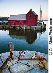 Places near most photographed famous fishing shack in Bearskin Neck Wharf in New England